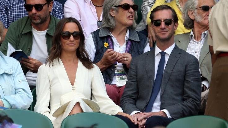 Pippa Middleton soll aufgrund zuckersüßer Babynews ganz aus dem Häuschen sein. (Foto)