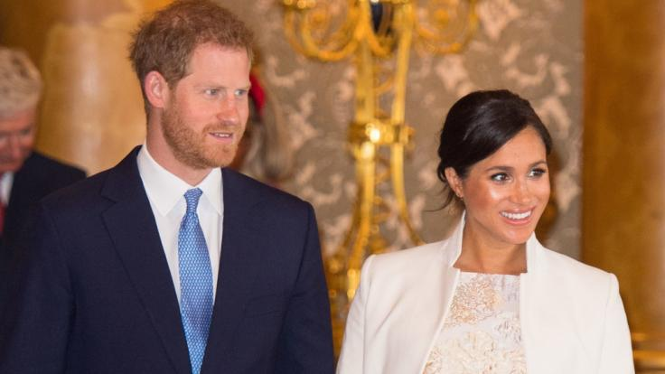 Werden in wenigen Wochen zum ersten Mal Eltern: Prinz Harry und Meghan Markle.