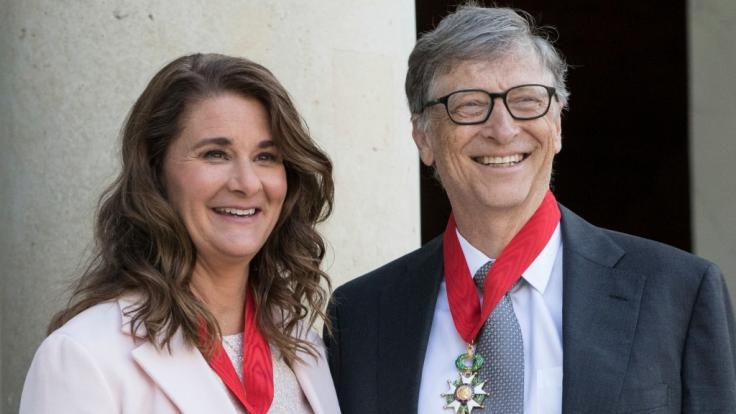 Bei Melinda und Bill Gates soll es schon lange gekriselt haben.