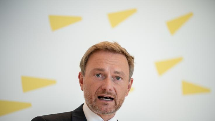 FDP-Chef Christian Lindner ist bestürzt über Trumps Reaktion nach US-Wahl. (Foto)