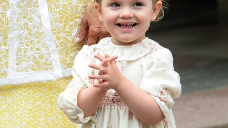 Prinzessin Estelle von Schweden ist mit ihren sechs Jahren der Sonnenschein des schwedischen Königshauses. (Foto)
