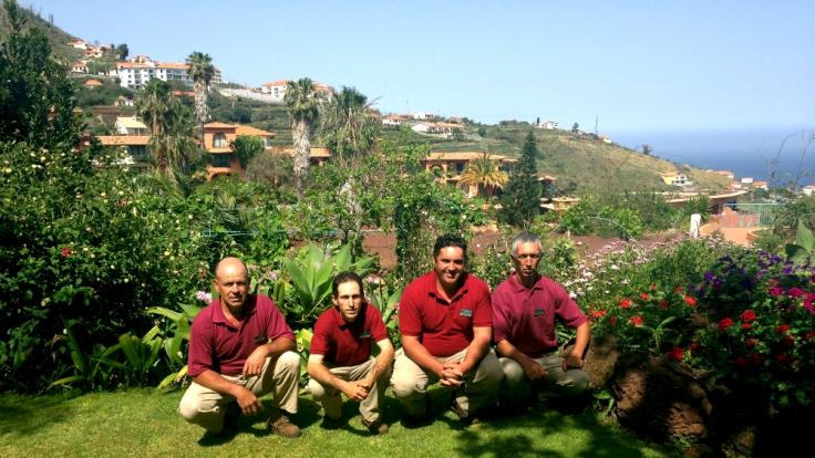 Das Gartenteam kümmert sich um 30.000 Quadratmeter blühende Beete.