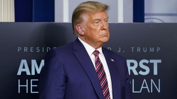 Mitten während der Videoschalte des G20-Gipfels twitterte Donald Trump - und sorgte auf Twitter für Gelächter. (Foto)