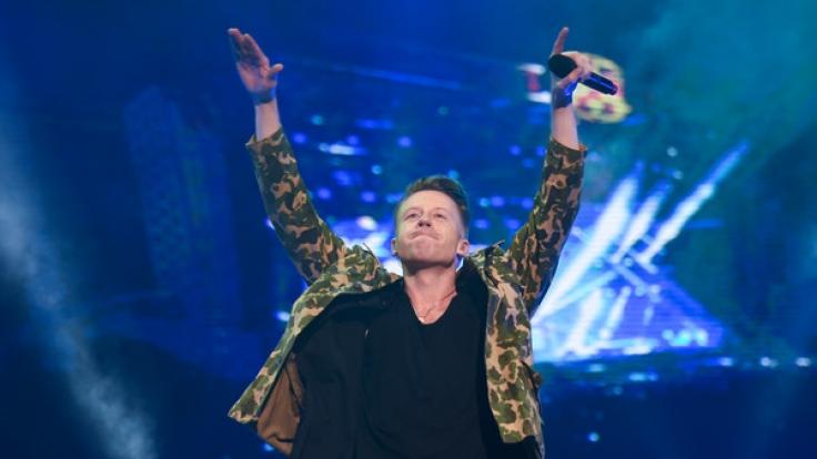 Rapper Macklemore geht 2018 auch in Deutschland auf Tour. (Foto)