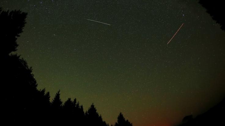 Eine Kunst für sich: Sternschnuppen richtig fotografieren.