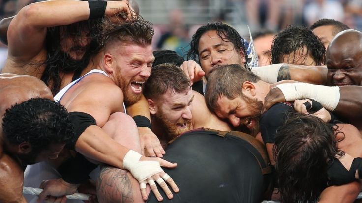 Bei Wrestlemania 34 geht es wieder ordentlich zur Sache. (Foto)
