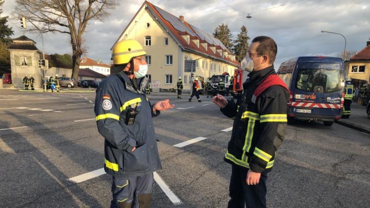 Bei der Gasexplosion in Memmingen wurden mehrere Menschen verletzt.
