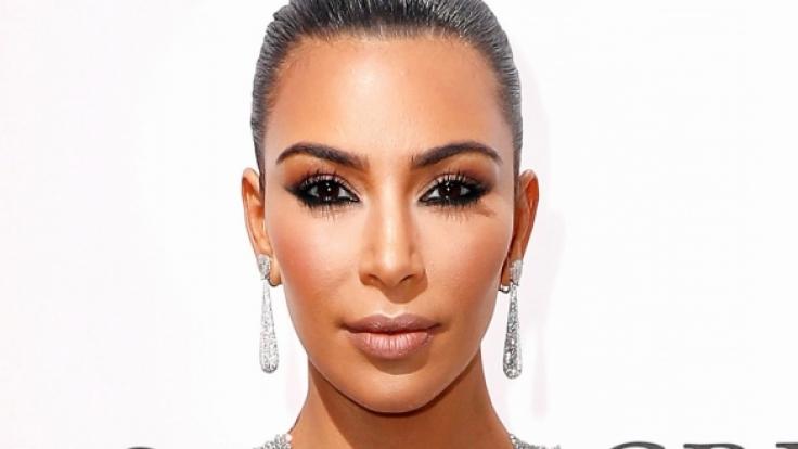 Kim Kardashian ist immer für ein sexy Foto zu haben. (Foto)