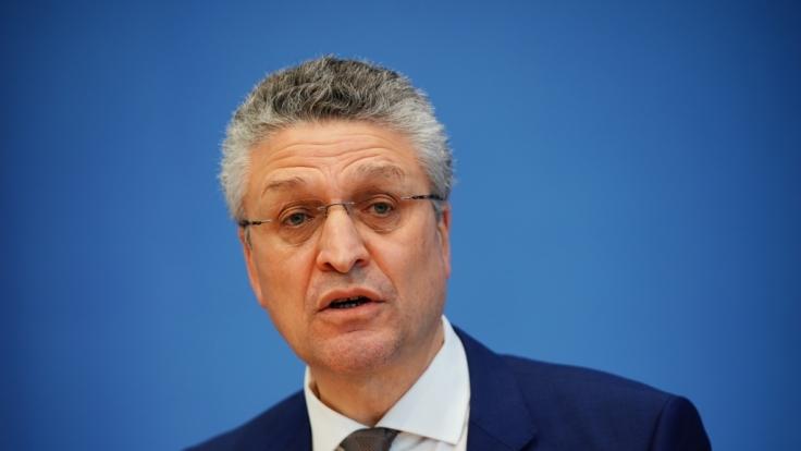 Lothar Wieler, Präsident Robert Koch-Institut (RKI). (Foto)