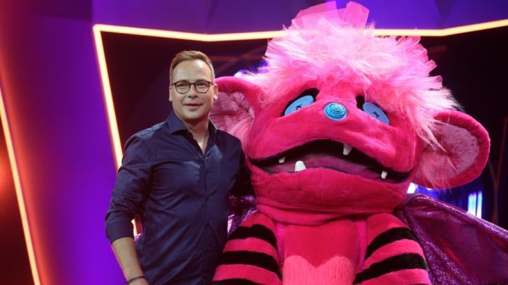 Der Moderator Matthias Opdenhövel und die Figur