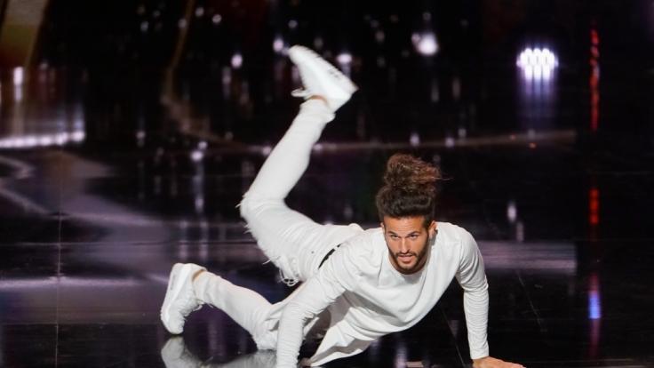 Michael Moral, seines Zeichens Tänzer aus Valence in Frankreich, möchte die Jury bei