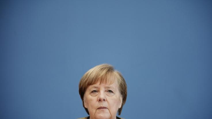 Bundeskanzlerin Angela Merkel (CDU) spricht bei RTL über die aktuelle Corona-Lage. (Foto)