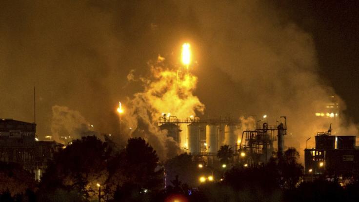 In Spanien kam es zu einer Explosion in einem Chemiepark.
