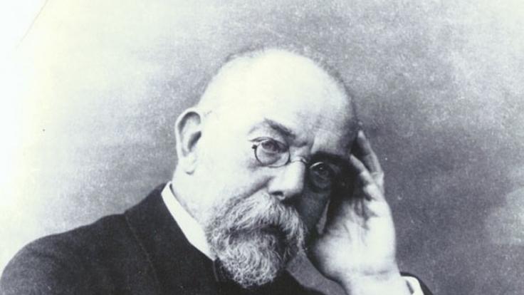 Der Mediziner Robert Koch starb vor 100 Jahren. (Foto)