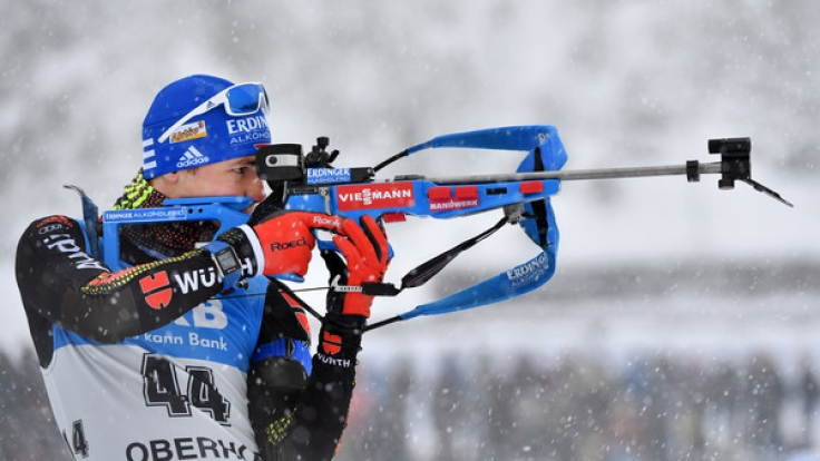 Simon Schempp möchte seinen Erfolg von Oberhof auch in Ruhpolding wiederholen.