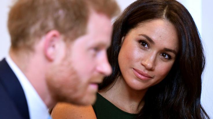 Meghan Markle und Prinz Harry absolvieren am Donnerstag einen ersten öffentlichen Auftritt gemeinsam mit Herzogin Camilla. (Foto)