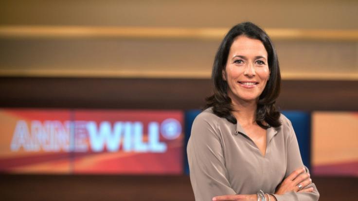 Anne Will diskutiert am Sonntag wieder mit Gästen aus Politik, Wissenschaft und Wirtschaft. (Foto)
