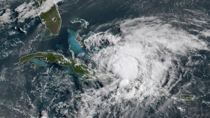 Der Hurrikan Isaias rast auf Florida zu. (Foto)