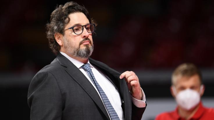 Andrea Trinchieri kann mit dem FC Bayern Basketball gegen Mailand eine Sensation schaffen