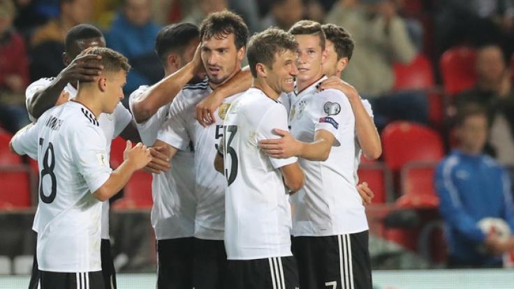 Die DFB-Elf trifft im 8. WM-Qualifikationsspiel auf Norwegen.