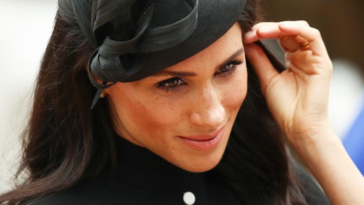 Meghan Markle ist nicht annähernd so beliebt wie ihr Mann Prinz Harry. (Foto)