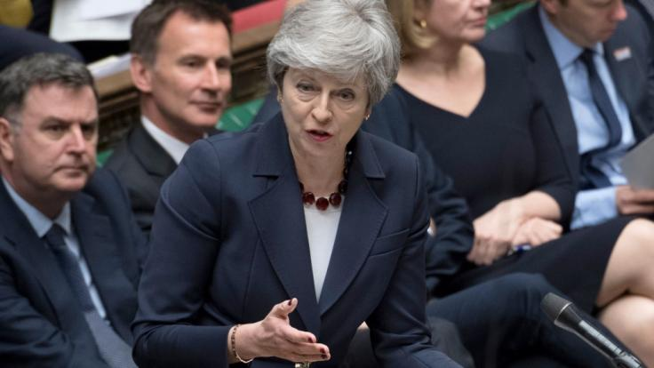 Theresa May ist bereit, sich für den Brexit-Deal zu opfern.