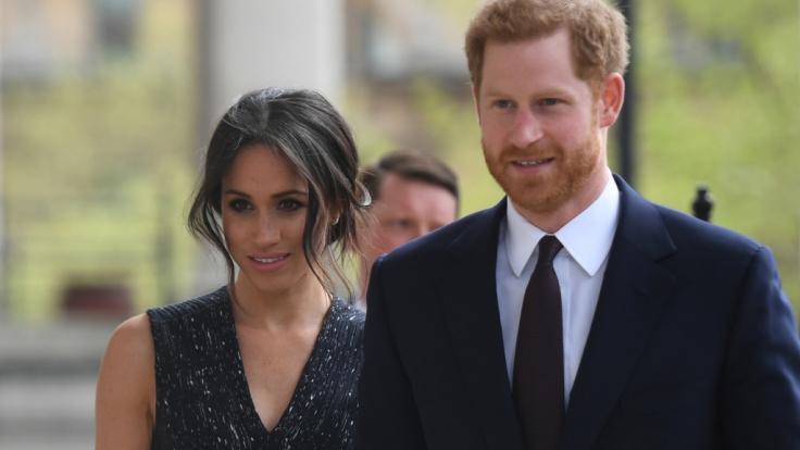 Im britischen Königshaus wird es bald wieder Nachwuchs geben: Herzogin Meghan erwartet ihr Kind im Frühjahr 2019. (Foto)