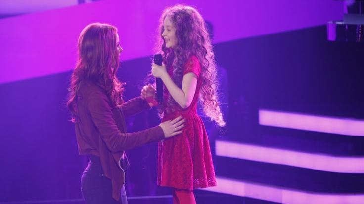 Wird Coach Lena Meyer-Landrut (li.) das größte Talent bei «The Voice Kids» finden?