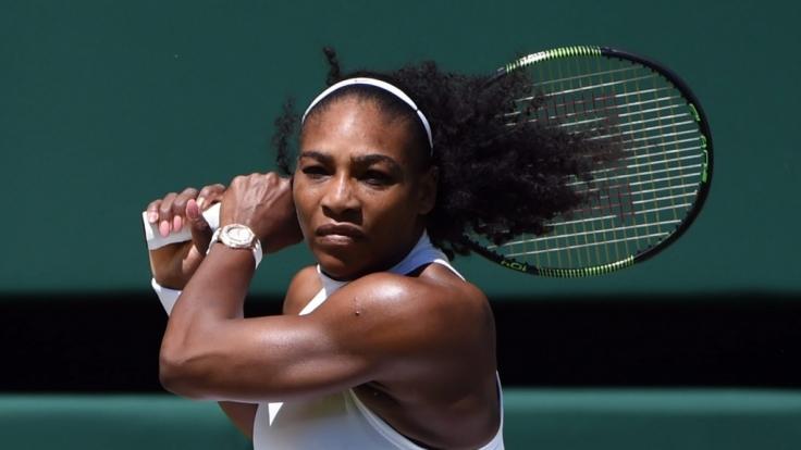 Erfolgreich wie sonst keine: Serena Williams führt aktuell die Tennis-Weltrangliste an. (Foto)