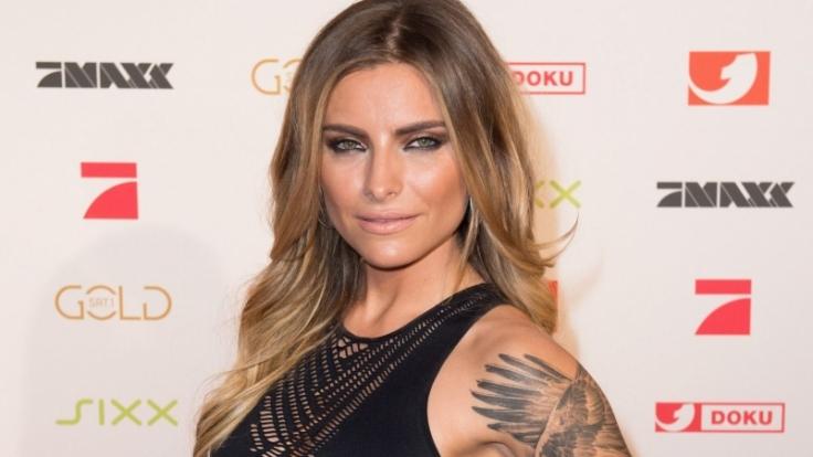 Sophia Thomalla trägt über 20 Tattoos am Körper. (Foto)