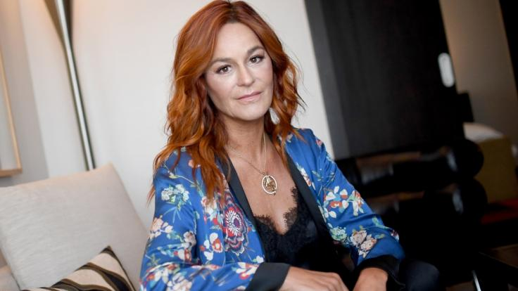 Sängerin Andrea Berg beruhigt ihre Fans.