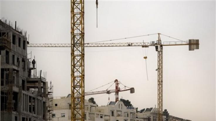 Bauarbeiten in Jerusalem: Deutsche habe auch in Israel gute Chancen auf dem Arbeitsmarkt. (Foto)
