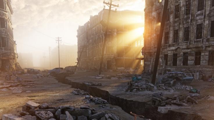 Horror-Szenario: Ein dritter Weltkrieg könnte ganze Städte zerstören. (Symbolbild)