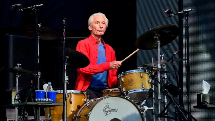 """Der legendäre Schlagzeuger der """"Rolling Stones"""" Charlie Watts ist verstorben. (Foto)"""