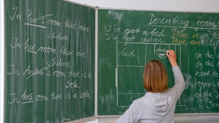 Im Klassenraum schloss Meredith Powell sich mit den Schülern ein.