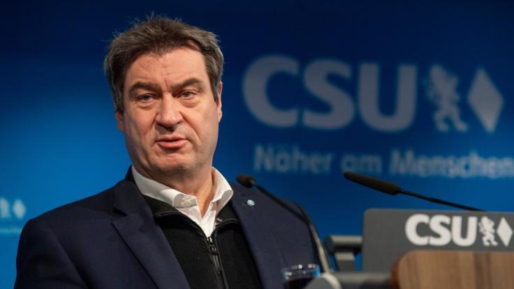 Markus Söder warnt vor verfrühten Lockerungen. (Foto)