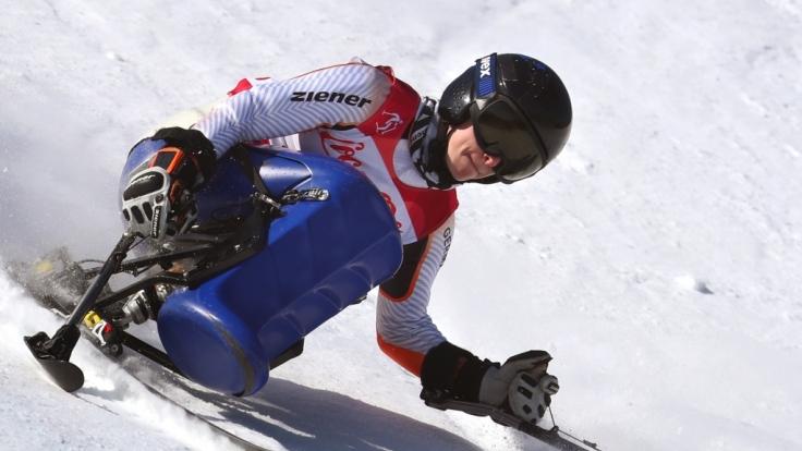 Anna Schaffelhuber bei den Paralympics 2018.