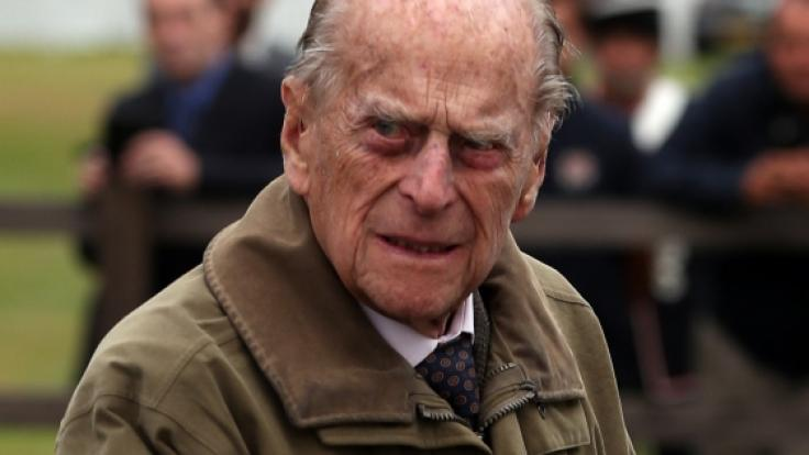 Prinz Philip hat eine Lügnerin entlarvt. (Foto)