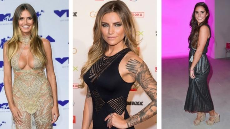 Heidi Klum, Sophia Thomalla und Sarah Lombardi: Diese Promi-Damen sollten im kommenden Jahr besser über ihre Instagram-Schnappschüsse nachdenken. (Foto)