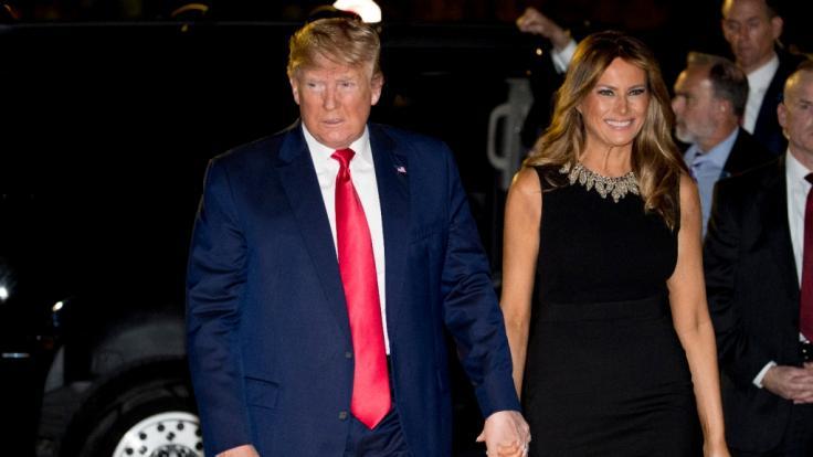 Melania Trumps Biografin verriet, warum Melania bei Donald Trump blieb, statt zu gehen. (Foto)