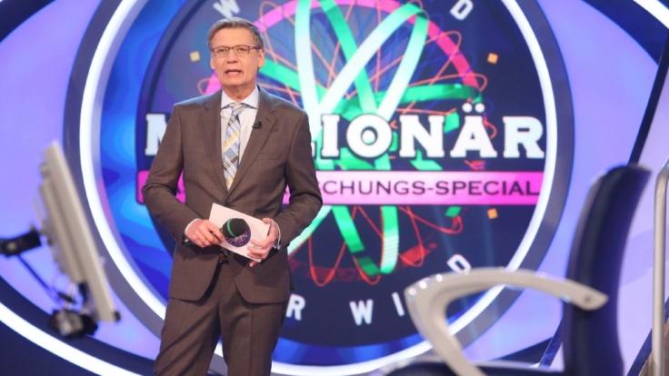 Öfter mal was Neues: Günther Jauch überrascht seine Kandidaten gern.