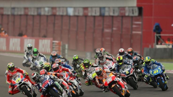 MotoGP, Moto2 und Moto3 machen am Wochenende Station in Spanien. (Foto)