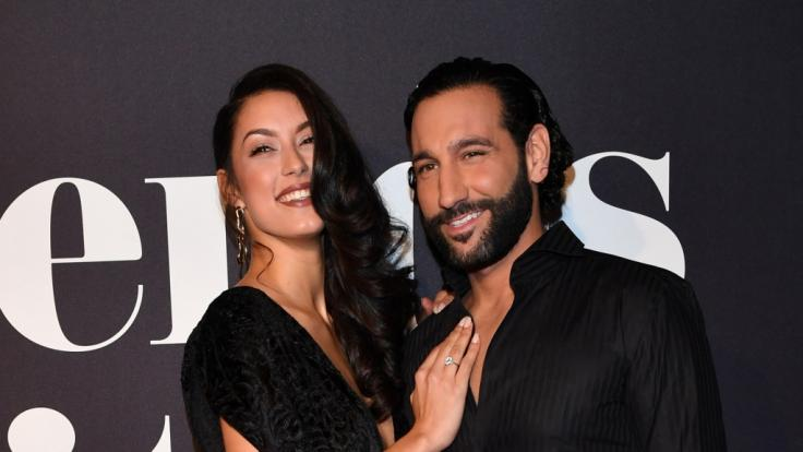 Rebecca Mir und Massimo Sinato. (Foto)
