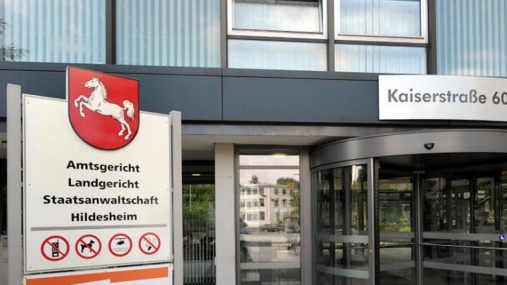 Das Gebäude des Amts- und Landgerichtes sowie der Staatsanwaltschaft Hildesheim.
