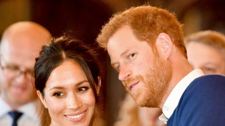 Meghan Markle und Prinz Harry waren nicht beim Bankett von Queen Elizabeth II. dabei. (Foto)