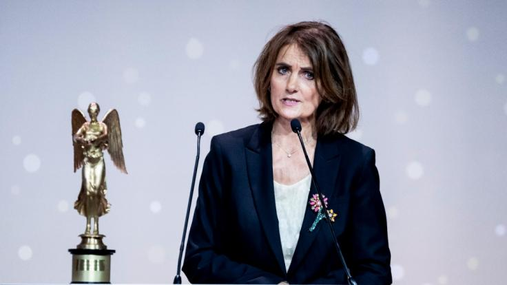 """Journalistin und Vorstandssprecherin von """"Reporter ohne Grenzen"""" Katja Gloger ist die Ehefrau von Georg Mascolo. (Foto)"""