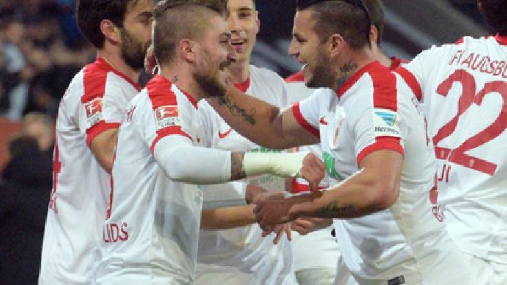 Wird RB Leipzig auch an diesem Samstag Grund zum Jubeln haben?
