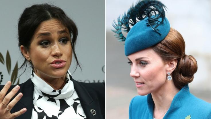 Meghan Markle und Kate Middleton.