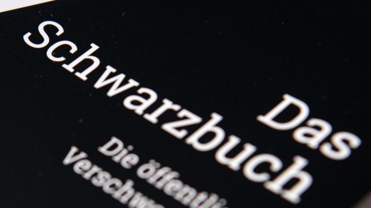 """""""Das Schwarzbuch"""" listet zahlreiche Beispiele von Steuerverschwendung auf. (Foto)"""