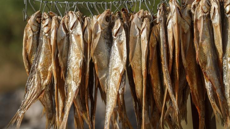 Aktuell werden Trockenfisch-Produkte zurückgerufen.